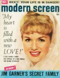 Debbie Reynolds on the cover of Modern Screen (United States) - April 1959