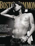 Steven Tyler on the cover of Boston Common (United States) - November 2011