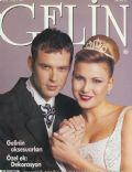 Murat Basoglu, Sebnem Dönmez on the cover of Gelin (Turkey) - February 1997
