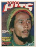 Bob Marley on the cover of Smash Hits (United Kingdom) - August 1980