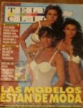 Daniela Cardone, Florencia Raggi, Mariana Arias on the cover of Tele Clic (Argentina) - January 1993