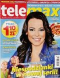 Anna Mucha on the cover of Tele Max (Poland) - February 2012
