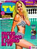 Michelle Hunziker on the cover of TV Sorrisi E Canzoni (Italy) - July 2012