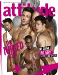 Antony Costa, Duncan James, Lee Ryan, Simon Webbe on the cover of Attitude (United Kingdom) - April 2011