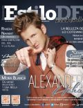 Alexander Acha on the cover of Estilo Df (Mexico) - May 2014