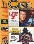 Actua Ciné Magazine [France] (June 1989)