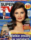 Agnieszka Sienkiewicz on the cover of Super TV (Poland) - March 2014