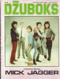 Bill Wyman, Charlie Watts, Keith Richards, Mick Jagger, Ron Wood on the cover of Dzuboks (Yugoslavia Serbia and Montenegro) - August 1980