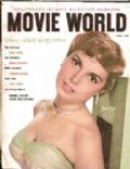 Janet Leigh on the cover of Movie World (United States) - July 1952