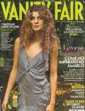 Vittoria Puccini on the cover of Vanity Fair (Italy) - October 2004
