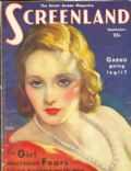 Tallulah Bankhead on the cover of Screenland (United States) - September 1931