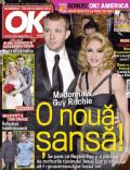 Guy Ritchie, Guy Ritchie and Madonna, Madonna on the cover of Ok (Romania) - September 2010