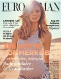 Milou Sluis on the cover of Eurowoman (Denmark) - June 2013