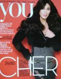 Cher on the cover of You (United Kingdom) - November 2010
