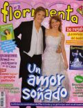 Florencia Bertotti, Florencia Bertotti and Juan Navarro, Juan Navarro on the cover of Floricienta (Argentina) - August 2004