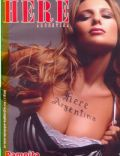 Carolina Ardohain on the cover of Here (Argentina) - July 2004