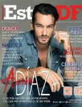 Aarón Díaz on the cover of Estilo Df (Mexico) - June 2014