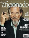 Jeff Bridges on the cover of Cigar Aficionado (United States) - August 2013