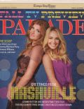 Connie Britton, Hayden Panettiere on the cover of Parade (United States) - September 2012