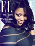 Octavia Spencer on the cover of Elle (United States) - November 2012