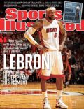 LeBron James on the cover of Sports Illustrated (United States) - April 2012