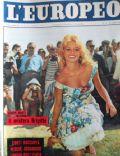 L'Europeo Magazine [Italy] (26 July 1959)