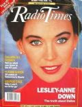 Lesley-Anne Down on the cover of Radio Times (United Kingdom) - April 1990