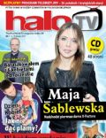 Maja Sablewska on the cover of Halo TV (United Kingdom) - February 2011
