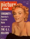 Marilyn Monroe on the cover of Picture Week (United States) - June 1956