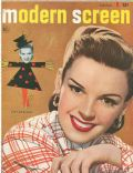 Judy Garland on the cover of Modern Screen (United States) - October 1948