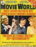 Robert Redford on the cover of Movie World (United States) - May 1975