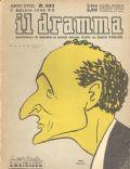 Il Dramma Magazine [Italy] (1 August 1942)