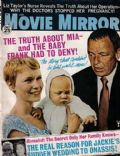 Frank Sinatra on the cover of Movie Mirror (United States) - January 1969