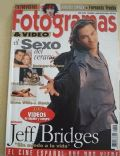 Jeff Bridges on the cover of Fotogramas (Spain) - May 1994