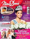 Flora Coquerel on the cover of Nous Deux (France) - January 2014