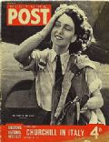 Maureen Dunlop de Popp on the cover of Picture Post (United Kingdom) - September 1944