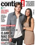 Ashton Kutcher, Demi Moore on the cover of Contigo (Brazil) - February 2011