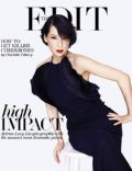 Lucy Liu on the cover of The Edit (United Kingdom) - May 2013