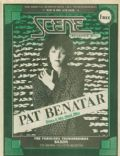 Pat Benatar on the cover of Scene (United States) - February 1986