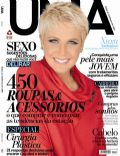 Xuxa Meneghel on the cover of Uma (Brazil) - August 2013