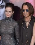 Johnny Depp and Eva Green