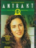 Lale Mansur on the cover of Antrakt (Turkey) - December 1992