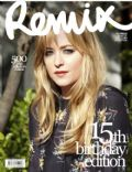 Dakota Johnson on the cover of Remix (New Zealand) - October 2009