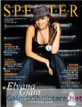 Elvana Gjata on the cover of Specter (Albania) - April 2009