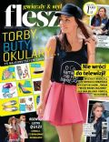 Natasza Urbanska on the cover of Flesz (Poland) - June 2014