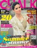 Erich Gonzales on the cover of Chalk (Philippines) - April 2011