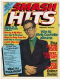 Elvis Costello on the cover of Smash Hits (United Kingdom) - February 1979
