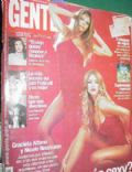 Nicole Neumann on the cover of Gente (Argentina) - October 2000