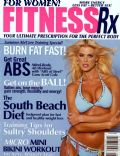 Victoria Silvstedt on the cover of Fitnessrx (United States) - August 2003