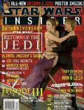 Carrie Fisher on the cover of Star Wars Insider (United States) - May 2003